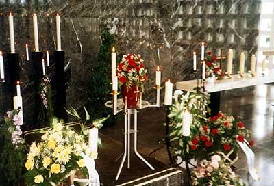 einberufung zur verbrennung im krematorium